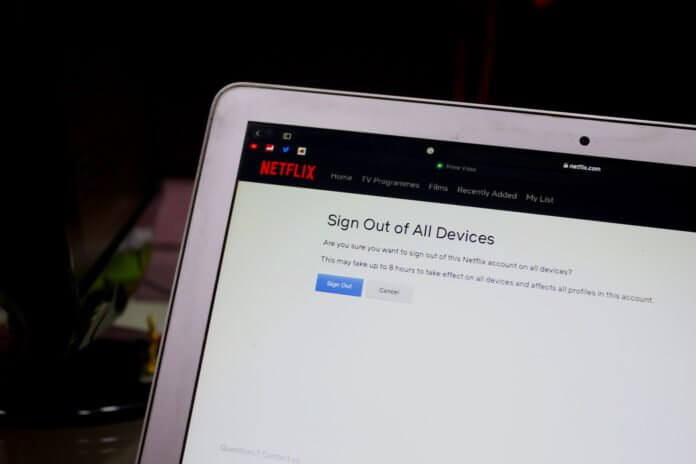 How to deauthorize devices in Netflix